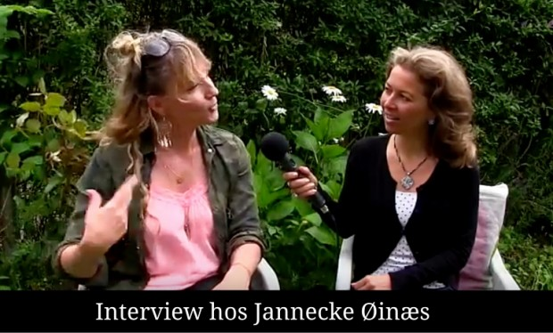 Interview med Jannecke Øinæs