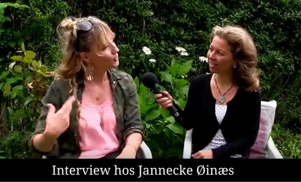 Interview med Jannecke Øinæs